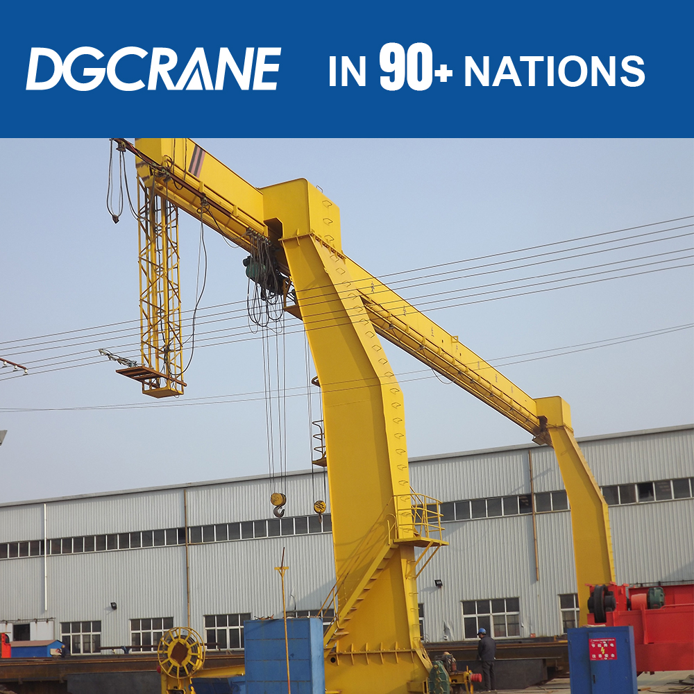 Electric Driven Bridge Girder Launching Gantry Crane With Electric Single Girder