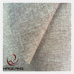 New design polyester line look jute fabric