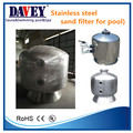 swimming pool equipment ss304 pipe filter