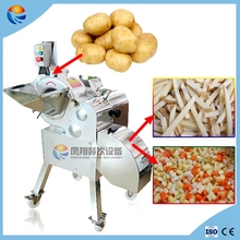 Industrial Automatic Vegetable Potato Pepper Cube Cutter with CE Certificated