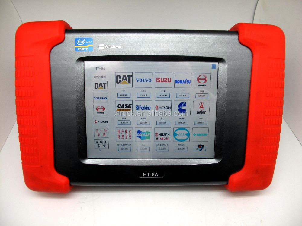 Universal Excavator Diagnostic Scanner Engine Analyzer for trucks,excavators,construction vehicles and generators