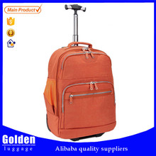 Waterproof materials plain single trolley travel bag fashion sport duffle bag Korea style travel bag