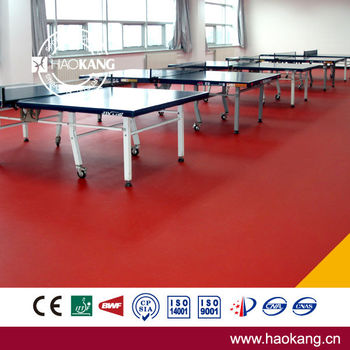 Plastic Sports Flooring for Indoor Table Tennis Court