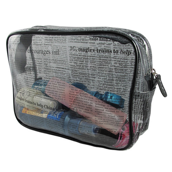 Top selling products in alibaba luxury plastic hanging women makeup bag