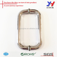 OEM ODM customized high percision strong stainless steel glass door handle/pull