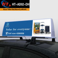 Taxi car roof top advertising 12v led outdoor display