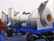 YLB700 60T/H mobile mini asphalt plant price hot sale supplied by professional manufacture