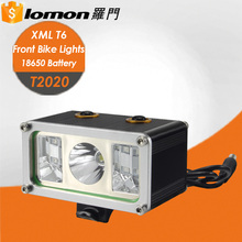 T2020 10W LED Rechargeable Strong Light T6 Zoom Safety Front Bike Lights