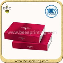 Excellent cosmetics packaging box, beautiful paper perfume box design, elegant packaging box for cosmetic