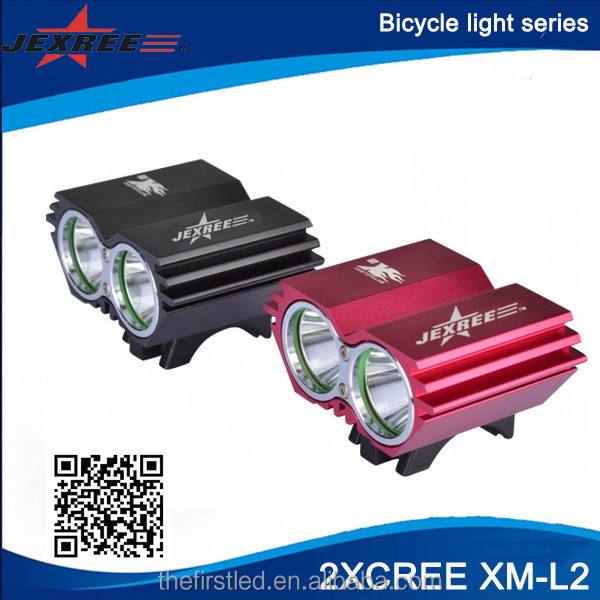 JEXREE 2xCREE XML <strong>u2</strong> <strong>LED</strong> <strong>bicycle</strong> accessories bicycl <strong>led</strong> <strong>light</strong> for <strong>Led</strong> Mountain Bike