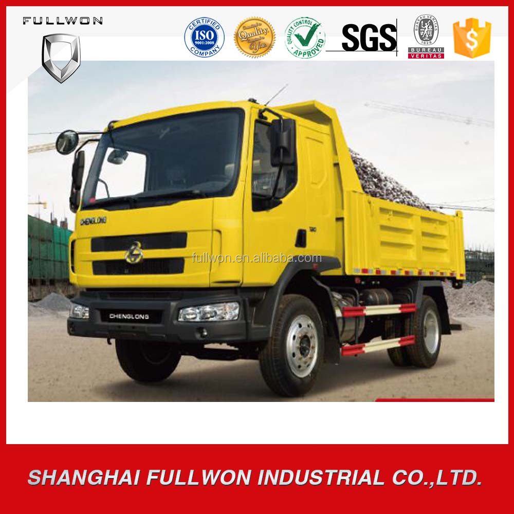 Chenglong diesel heavy duty dump truck for sale in dubai