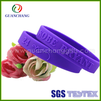Wholesale custom high quality fashion energy engraved logo festival silicone wristband debossed for events bulk buy from China