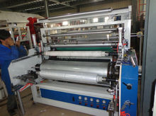 LYM-1000X2 B double screws cling fresh stretching film making machine