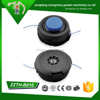 Chain trimmer head for brush cutter grass line trimmer