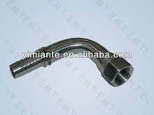 SS hydraulic BSPP 60 degree cone seat hose fittings