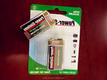 Durable D Size/9V Alkaline Battery Lifelong