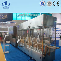 automatic Vial bottle cleaning filling capping production machine