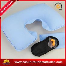 OEM inflatable back support pillow inflatable pillow transparent u shape pillow cheap price