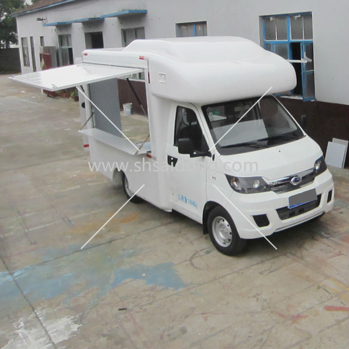 New Style!!! Perfect Mobile Catering Van,bus type snack food truck