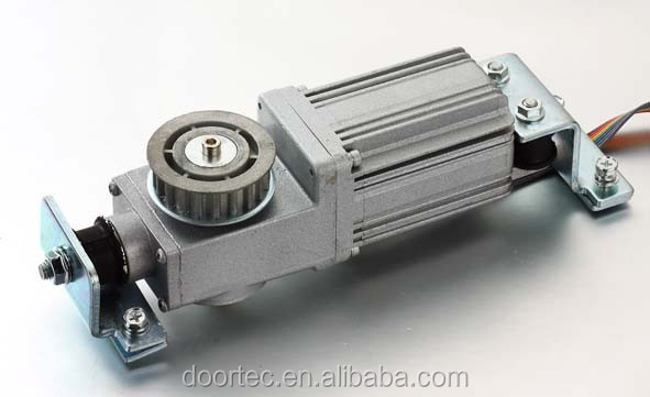 Energy-saving automatic sliding door DC motor