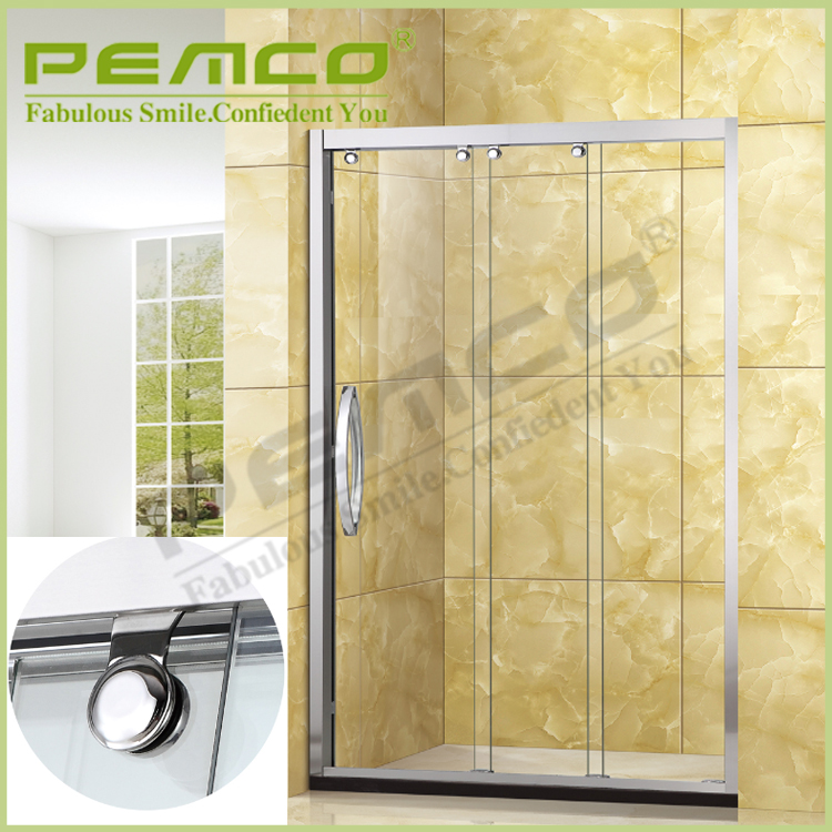 new design high-grade Tempered Glass luxury hotel standard size shower room