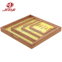 Manufacture Turnkey OEM Custom Made Wood Serving Tray
