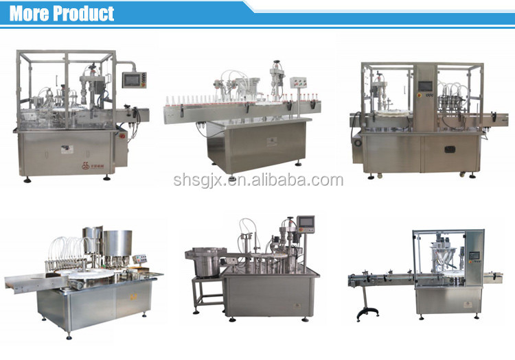 35-50 bottle/min Pharmaceutical Vials Filling Capping Machines