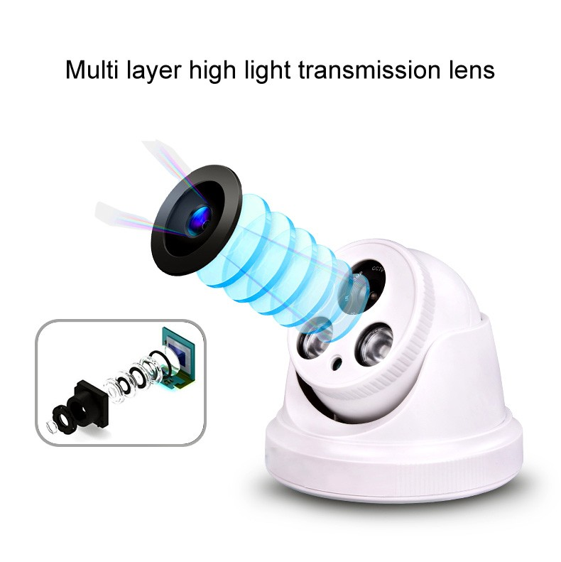 night vision 1.0mp 1.3mp 2.0mp cctv camera HD Security camera hemisphere