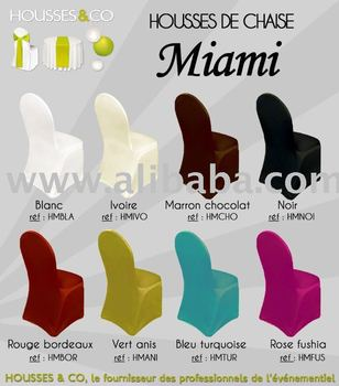 housses de chaise lycra pour chaises miami chaises coques chaises pliantes buy housses de. Black Bedroom Furniture Sets. Home Design Ideas