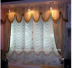 fashion home decoration curtains voile fabric