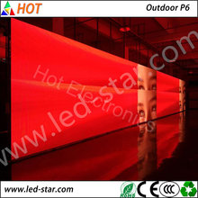 P6 Outdoor LED Large Screen Display