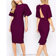 New Style Fashion Women Solid Color Bodycon Dress sexy Japanese Prom Dresses