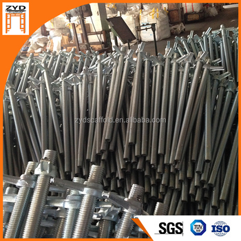 Prop Scaffolding With Adjustable Screw Jack For Construction
