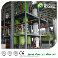 Fractionation Column, export to Mexico waste oil distillation plant with CE