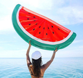 2018 pvc inflatable watermelon slice float toy swimming pool float inflatable fruit float in stock