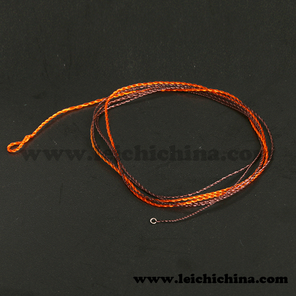 Hot saled red nymph leader rocket tip fly fishing line for Red fishing line