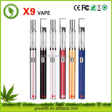 Greentime X9 400 puffs dream vapor e cigarette flash e vapor mini vapor e pipe