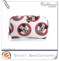 2016 new design Lovely mickey cosmetic bag for girls