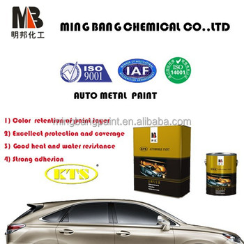 Good Coverage Car Siliver Pearl Metallic Paint Colors Coating