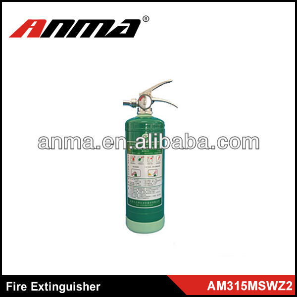 Universal brands dry powder fire extinguisher green fire extinguisher