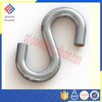 High Quality Polished Stainless Steel S Hook for Sale