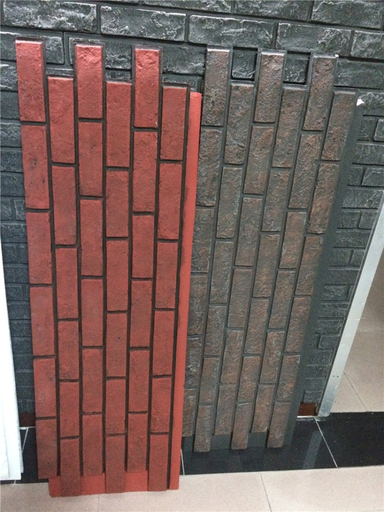 PU Faux stone Type and Tile Stone cheapest exterior wall cladding brick panel home depot