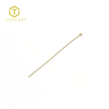 Gold Plated Pin Findings Jewelry Eye Pins Design 76MM Eyepin