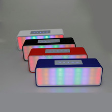 New arrival super bass led light bluetooth speaker made in China
