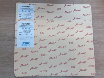 Jiangyin besto china Moontex 588 high quality Insole Paperboard (insole sheet, shoe insole paper board)