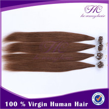 Zero Pollution Take Care Indian Remy Hair Weaving Premium Weft Micro Ring