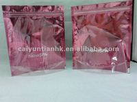 See through window stand up packing bag/Laminated stand up packing bag with zipper