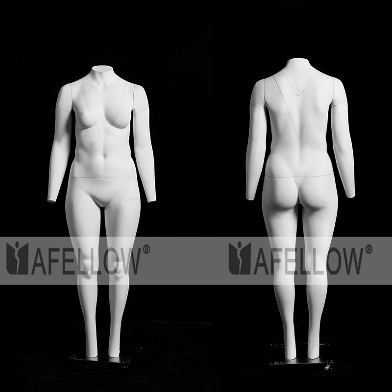 plus size female mannequin removable mannequin invisible ghost mannequins GH14