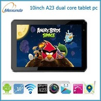 dual core 10.1inch tablet pc dual camera android 4.2 tablet 1gb ram