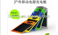 Thin film 4 Watts flexible solar charger, flexible solar panel for mobile phone and tablet